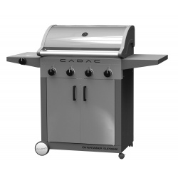 Gratar pe gaz cu arzator lateral CADAC ENTERTAINER STAINLESS STEEL 3B+SB