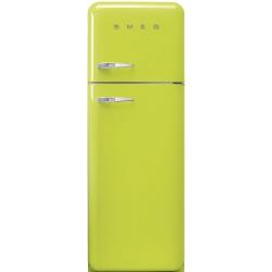 Frigider 2 usi Retro SMEG FAB30RV1, Clasa A++, 229L, verde