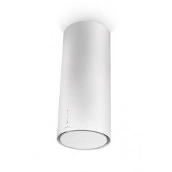 Hota insula Faber Cylind I.EVO PLUS WH A37 FB, 37 cm, 680 m3/h, alb perlat