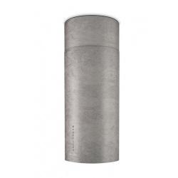 Hota insula Faber Cylind I.EVO PLUS CONCRETE A37 FB, 37 cm, 680 m3/h, gri ciment