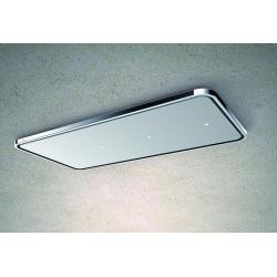 Hota de tavan Baraldi Nota Ceiling 01NOTSO090BL flat box 1300, 90 cm, 1300m3/h, crom/negru