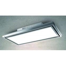 Hota de tavan Baraldi Flexia free 01FLEFR090WH90, 90 cm, 900 m3/h, inox / alb