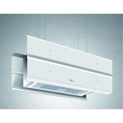 Hota design suspendata Baraldi Modus 01MOD090WH80, 90 cm, 800 m3/h, alb
