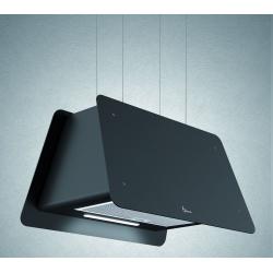 Hota design suspendata Baraldi Lady 01LAD070BL70, 70 cm, 700 m3/h, negru