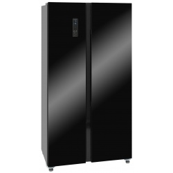 Side by Side GGV Exquisit SBS130-4A, Clasa A+, 429L, No Frost, inox