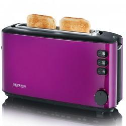 Toaster Severin AT 9732,1000W,2 felii de paine,mov metalic/negru