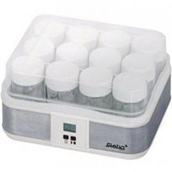 Aparat de facut iaurt Steba JM 2,21W,otel inoxidabil/alb