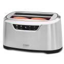Toaster Caso Novea T4, 1600 W, 4 sloturi, argintiu