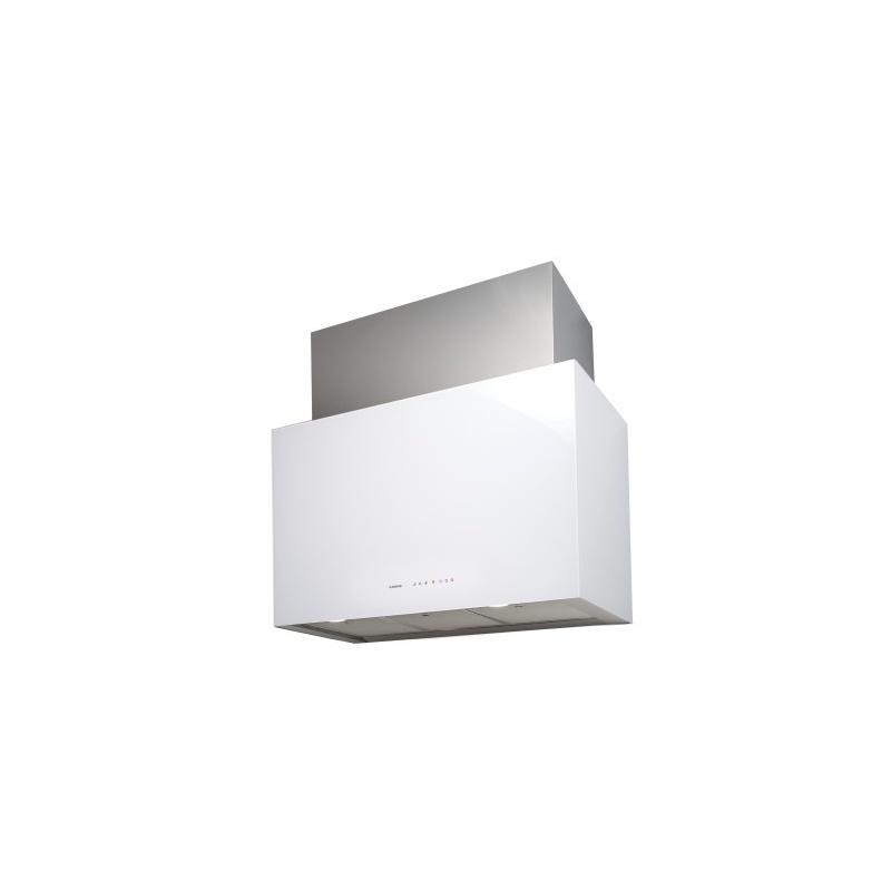Hota insula Nodor CUBE GLASS 900 WH, A, 130 W, 90 cm, alb