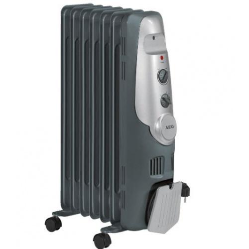 Radiator electric cu ulei, AEG RA 5520 , 7 elementi , Antracit