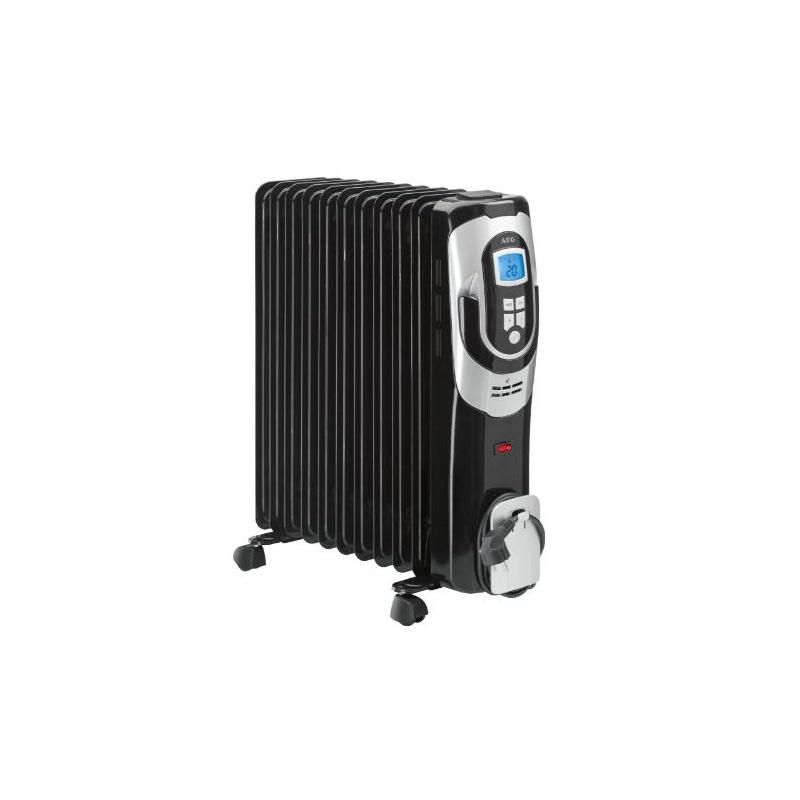 Radiator electric cu ulei, AEG RA 5589, 11 Elementi, Negru