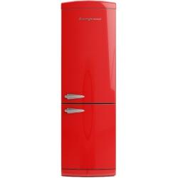Combina frigorifica Retro Bompani BOCB697/R, Clasa A+, 316 litri, Latime 60 cm, Rosu