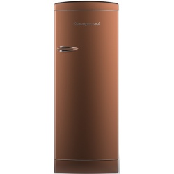 Frigider cu o usa Retro Bompani BOMP114/K, Clasa A++, 275 litri, Latime 60 cm, Cupru