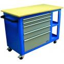 Banc de lucru mobil cu sertare U WERKBANKWAGEN GWB 05 - 40925