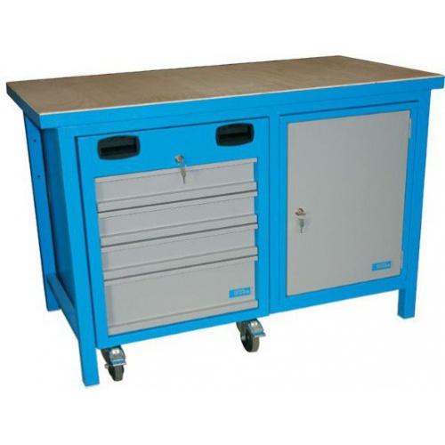 Banc de lucru cu sertare mobile 1200 SLT MULTI - 40932