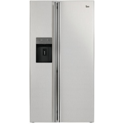 Combina frigorifica Side by side Teka NFE3 650 X, A+, 544 l, inaltime 179 cm, Inox
