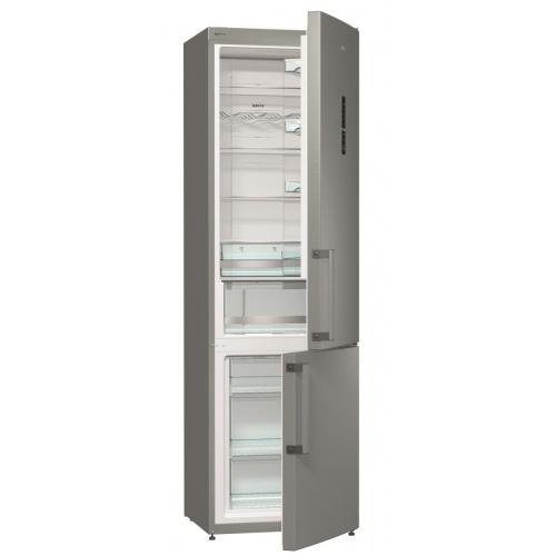 Gorenje Combina frigorifica Gorenje NRK6202MX, Full No Frost, 363 L, A++, H 200 cm, Inox