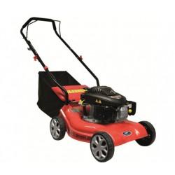 Masina de tuns iarba pe benzina Gude 410 P2, 2.7 CP, 99 cmc,40.6 cm,40 l,rosu