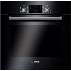 Cuptor incorporabil electric Bosch HBA43T360, 7 functii, grill, decongelare, Clasa A, negru