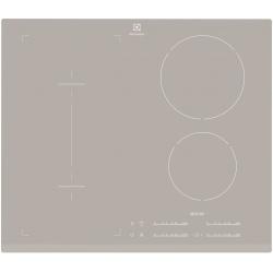 Plita incorporabila Electrolux EHI6540FOS, Inductie, 4 Zone de gatire, 59 cm, Sticla argintie