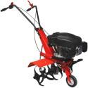 Motosapatoare pe benzina Gude GF 601, 3,5 CP, 139 cmc, 59 cm, rosu/negru