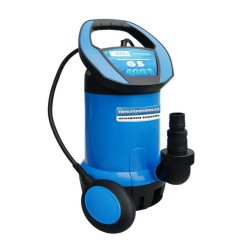 Pompa submersibila Gude GS 4001, 400W,, 8000 l/h, 5m, albastru si negru