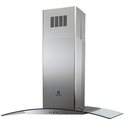 Hota incorporabila decorativa Electrolux EFL10965OX, Putere de absorbtie 600 mc/h, 1 Motor, 100 cm, Inox