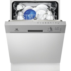 Masina de spalat vase semi incorporabila Electrolux ESI5201LOX, 13 Seturi, 5 Programe, Clasa A+, 60 cm