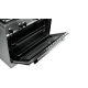 Aragaz Tecnogas P965MX, 90x60 cm, gaz, 5 arzatoare, aprindere electronica, grill, rotisor, otel inoxidabil