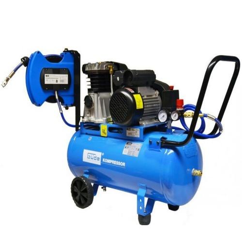 Compresor cu ulei Gude Set 400/10/50 DG, 2200W, 10 bar, 50 l