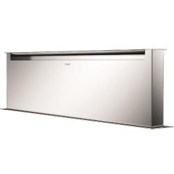 Hota aplicata Fulgor Milano CHDD 12010 RC X, 120 cm, sistem Downdraft,telecomanda, inox