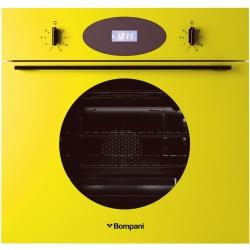 Cuptor incorporabil Bompani Color Me BO249CC/E, electric, multifunctional, 60cm, 54l, Galben