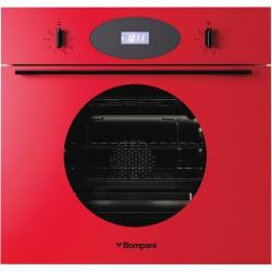 Cuptor incorporabil Bompani Color Me BO249CA/E, electric, multifunctional, 60cm, 54l, Rosu
