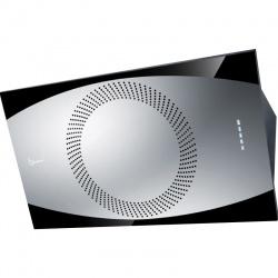 Hota design Baraldi Noa 01NOA090STB80, 90 cm, 800 m3/h, otel inoxidabil/negru