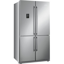 Side by side SMEG FQ60XPE, Clasa A+, 610 litri, Latime 92 cm, total No Frost, 4 usi, inox