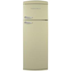 Frigider 2 usi Deco Tecnogas DP36A, Clasa A+, 317 litri, Latime 60 cm, portocaliu
