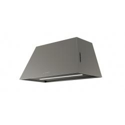 Hota decorativa Faber Black Tie BRS WH A80, 80 cm, 700 m3/h, sticla alba / inox