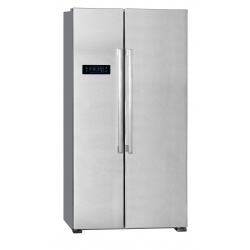 Side by Side Exquisit SBS130-4A, Clasa A+, 429L, No Frost, inox