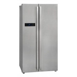 Side by Side Exquisit SBS550-4A, Clasa A++, 514L, No Frost, Twist Ice Maker, inox