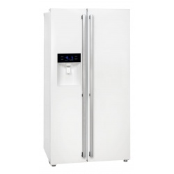 Side by Side Exquisit SBS530-3FCA, Clasa A+, 504L, No Frost, dispenser apa/gheata, inox