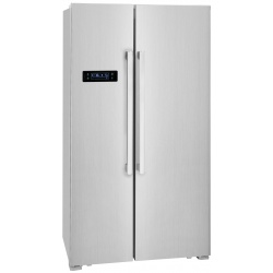 Side by Side Exquisit SBS250-4A, Clasa A++, 514L, No Frost, Twist Ice Maker, inox
