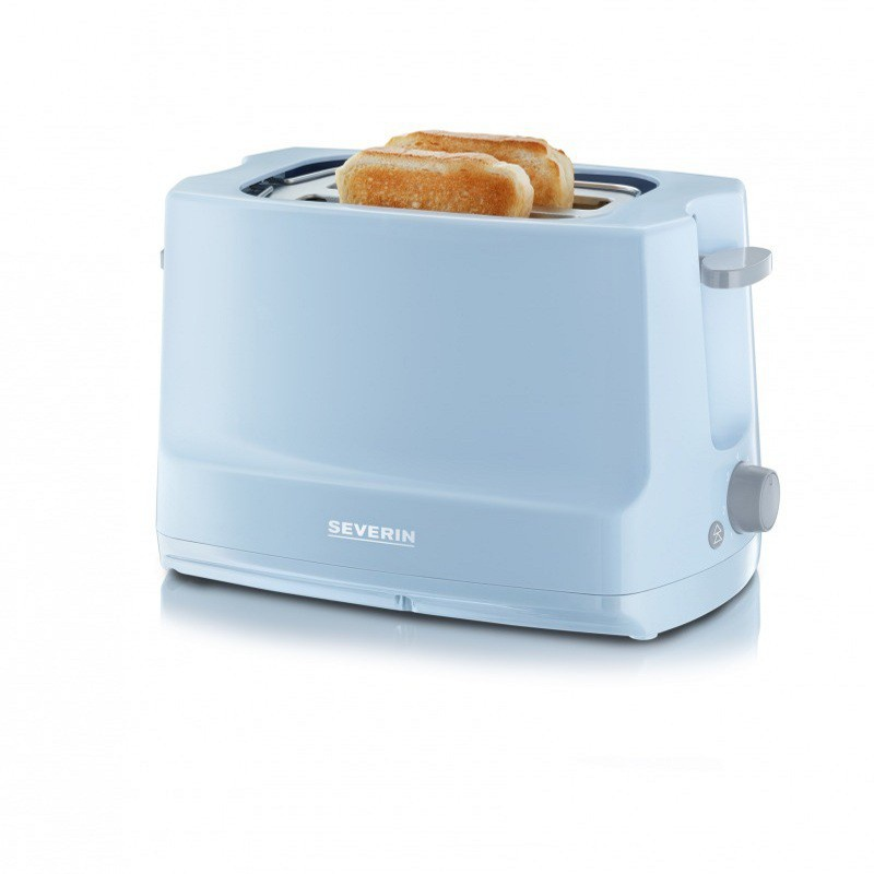 Toaster automat Start Severin AT 9723,800W,termostat reglabil,albastru deschis-gri