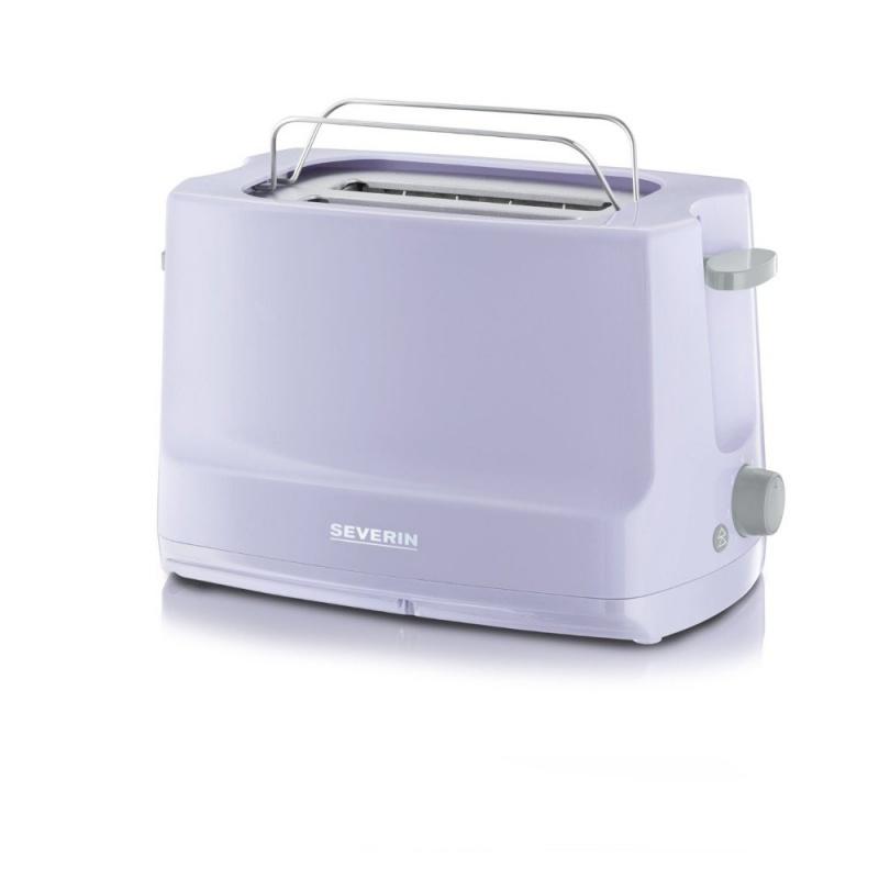 Toaster automat Start Severin AT 9726,800W,2 felii,lila-gri
