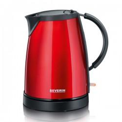 Ceainic Severin WK 9730,1350W,1 l,rosu metalizat/negru