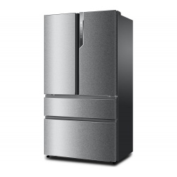 Side by Side Haier HB25FSSAAA, 685 l, No frost, control Touch, clasa A++, Inox