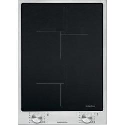 Plita incorporabila Barazza B_Free, 36 cm, plita inductie, 2 zone gatite, aprindere electronica, inox/sticla neagra