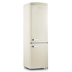 Combina frigorifica Severin Retro RKG 8922, Clasa A++, 188 KWh/an, 255L, negru mat