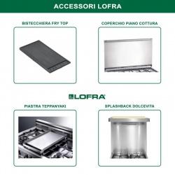 Aragaz Lofra Maxima M95G/C, 90x50 cm, gaz, 5 arzatoare, grill electric, timer, aprindere electronica, inox