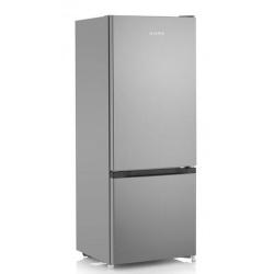 Combina frigorifica SEVERIN KGK 8973, clasa A ++, 144 cm, 173 kWh / an , frigider 154 L, congelator 52 L, Low Frost, inox