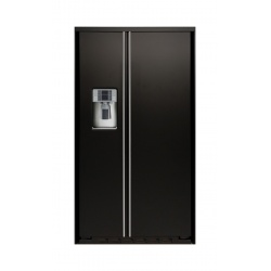 "Side by side incorporabil IOMABE Exclusive ""V"" Series ORE24VGF3BM, clasa A+, 528 l, No Frost, Negru mat"